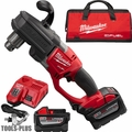 "Milwaukee 2707-22HD M18 Fuel Hawg 1/2"" Right Angle Drill 2 9.0ah Batts"