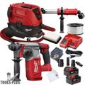 "Milwaukee 2712-22 M18 FUEL 1"" SDS Plus Rotary Hammer w/HEPA Dust Extractor"