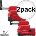 Milwaukee 2712-DE HAMMERVAC Dedicated HEPA Dust Extractor 2x