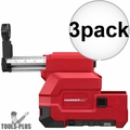 Milwaukee 2712-DE HAMMERVAC Dedicated HEPA Dust Extractor 3x
