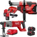 "Milwaukee 2713-22 M18 FUEL 1"" SDS Plus Rotary Hammer w/HEPA Dust Extraction"