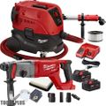 "Milwaukee 2713-22 M18 FUEL 1"" SDS+ Rotary Hammer w/HEPA Dust Extraction"