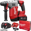"Milwaukee 2715-22 M18 FUEL 1-1/8"" SDS Plus Rotary Hammer Kit"