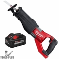 Milwaukee 2722-20 M18 FUEL Super Sawzall (Tool Only) + M18 8.0 Ah Battery