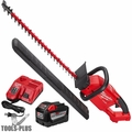 "Milwaukee 2726-21HD M18 FUEL 24"" Hedge Trimmer Kit 9.0ah High Demand Batt"