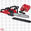 """Milwaukee 2727-21HD M18 FUEL 16"""" Chainsaw Kit 12.0 Ah Battery Included"""