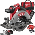 "Milwaukee 2730-22 18 Volt M18 FUEL 6-1/2"" Circular Saw Kit"