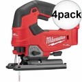 Milwaukee 2737-20 M18 FUEL Cordless D-Handle Jig Saw (Tool Only) 4x