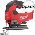 Milwaukee 2737-20 M18 FUEL Cordless D-Handle Jig Saw (Tool Only) 5x