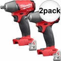 "Milwaukee 2755B-20 1/2"" Impact Wrench with Friction Ring (Tool Only) 2x"