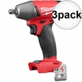 "Milwaukee 2755B-20 1/2"" Impact Wrench with Friction Ring (Tool Only) 3x"