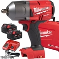 "Milwaukee 2766-22 M18 FUEL High Torque 1/2"" Impact w/ Pin Detent +2 5ah Batt"