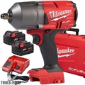 "Milwaukee 2767-22 M18 FUEL High Torque 1/2"" Impact w/ Fric Ring + 2 5AH Batt"