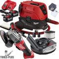 "Milwaukee 2780-22HD M18 Fuel 4-1/2""/5"" Grinder Paddle w/HEPA Dust Extractor"