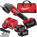 "Milwaukee 2783-22HD M18 Fuel 4-1/2""/5"" Braking Grinder High Demand Kt 3x 9.0"
