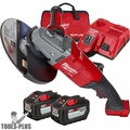 "Milwaukee 2785-22HD M18 FUEL 7"" / 9"" Large Angle Grinder (2 Battery Kit)"