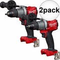 "Milwaukee 2803-20 M18 FUEL 1/2"" Drill Driver 2x"