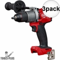 "Milwaukee 2803-20 M18 FUEL 1/2"" Drill Driver 3x"