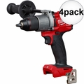"Milwaukee 2803-20 M18 FUEL 1/2"" Drill Driver 4x"
