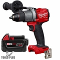"Milwaukee 2803-20 M18 FUEL 1/2"" Drill Driver (Tool Only) + 5.0 Ah Battery"