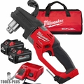 Milwaukee 2807-22 M18 FUEL Hole Hawg Right Angle Drill w/2 6.0Ah Batteries