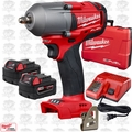"Milwaukee 2852-22 M18 FUEL 3/8"" Mid-Torque Impact Wrench Friction Ring Kit"