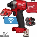 "Milwaukee 2857-22CT M18 FUEL 1/4"" Hex Impact w/ ONE-KEY + 2 2.0ah Batts"