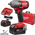 "Milwaukee 2861-22 M18 FUEL 1/2"" Impact Wrench w/ Friction Ring Kit"