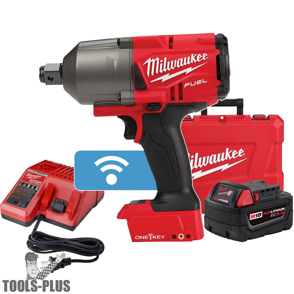 Milwaukee 2864 22 M18 Fuel High Torque Impact Wrench 3 4 Friction Ring Kit