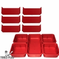 Milwaukee 31-01-0502 5 PC Bin Set for Low Profile PACKOUT w/6 Dividers