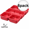 Milwaukee 31-01-0502 6x 5 PC Bin Set for Low Profile PACKOUT Organizer