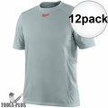 Milwaukee 410G-3X Gray WorkSkin Lightweight Performance Shirt 3x-Large 12x