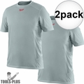 Milwaukee 410G-3X Gray WorkSkin Lightweight Performance Shirt 3x-Large 2x