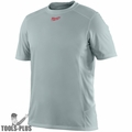 Milwaukee 410G-3X Gray WorkSkin Lightweight Performance Shirt 3x-Large