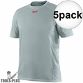 Milwaukee 410G-3X Gray WorkSkin Lightweight Performance Shirt 3x-Large 5x