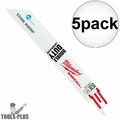 """Milwaukee 48-00-4788 5pk 9in. x 18 TPI """"The Torch"""" Sawzall Blades"""