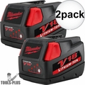 Milwaukee 48-11-1830 V18 Lithium-Ion Battery Pack 2x