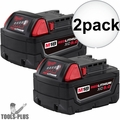 Milwaukee 48-11-1852 2pk M18 REDLITHIUM XC5.0 Battery Pack 48-11-1852