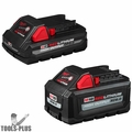 Milwaukee 48-11-1865S M18 18-Volt Li-Ion High Output 6.0Ah and 3.0Ah Battery
