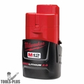 Milwaukee 48-11-2420 12V M12 Red Lithium 2.0Ah Battery Original pkg