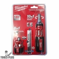 Milwaukee 48-22-2302P 10-in-1 Ratchet Multi Driver w/ 8-in-1 Compact Driver