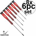 Milwaukee 48-22-2606 6pc Precision Screwdriver Set w/Case 8x