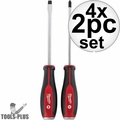 Milwaukee 48-22-2702 2pc Demo Drivers w/ Steel Caps Set