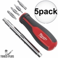 Milwaukee 48-22-2760 11 & 1 Multi-Tip Screwdriver 5x