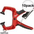 "Milwaukee 48-22-3002 2"" Plus Stop Lock Hand Clamp with Durable Grip 10x"