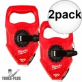 Milwaukee 48-22-3910 100ft Extra Bold Large Capacity Chalk Reel 2x
