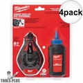 Milwaukee 48-22-3982 100' Bold Line Chalk Reel w/ Blue Chalk 4x