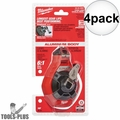 Milwaukee 48-22-3990 100' Fine Line Chalk Reel (Fine Line) 4x