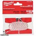 Milwaukee 48-22-3999 100' Precision Replacement Chalk Line (Fine Line)