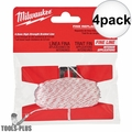 Milwaukee 48-22-3999 100' Precision Replacement Chalk Line (Fine Line) 4x